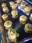 Quail Eggs Bearnaise